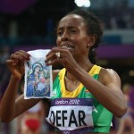 Faith of an Olympian…