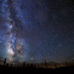 Taurid Meteor Shower over Yellowstone - National Geographic