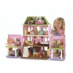 This little girl has a dollhouse and she's happy so it's obviously not a picture of me.