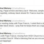 Cardinal Mahony, Suddenly an Authority on Examples of Humility…
