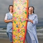 An Entire Beach of Nuns …