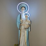 Blessed Virgin Mary at St. Margaret Mary Catholic Church, Wichita, Kansas