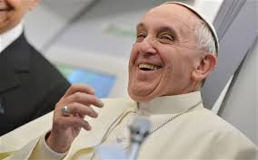 Alternate interview headline pope declares himself humble
