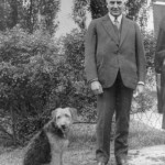 Warren G. Harding and Laddie Boy