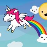 Unicorns Poop Magic Rainbows…