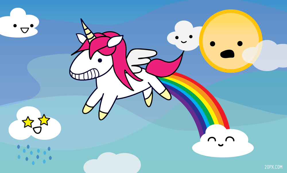 Unicorns Poop Magic Rainbows