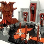 Nine Circles of Hell Depicted by Lego…