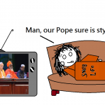 Papal Snuggie coming to the Catholic Gift Shop Nearest You…