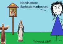 relentessly catholic yard