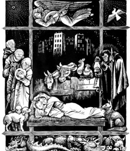 The Incarnation, Fritz Eichenberg