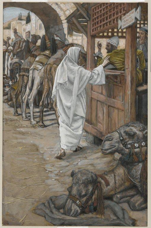 The Calling of Saint Matthew (Vocation de Saint Mathieu) by James Tissot