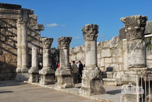 Ruins of the Synagogue at Capernaum