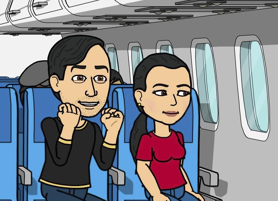 David and Diana are VERY excited to be going to Portugal!
