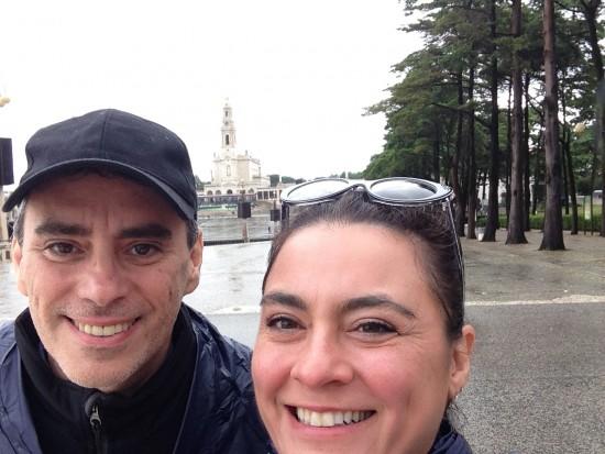 David and I in Fatima
