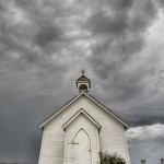 little church dark sky