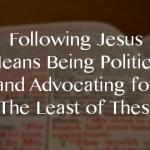 political following jesus