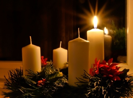 A Prayer for the 1st Sunday of Advent | Mark Sandlin One Advent Candle