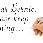 Dear Bernie: Please Keep Running with Dr. King's Dream