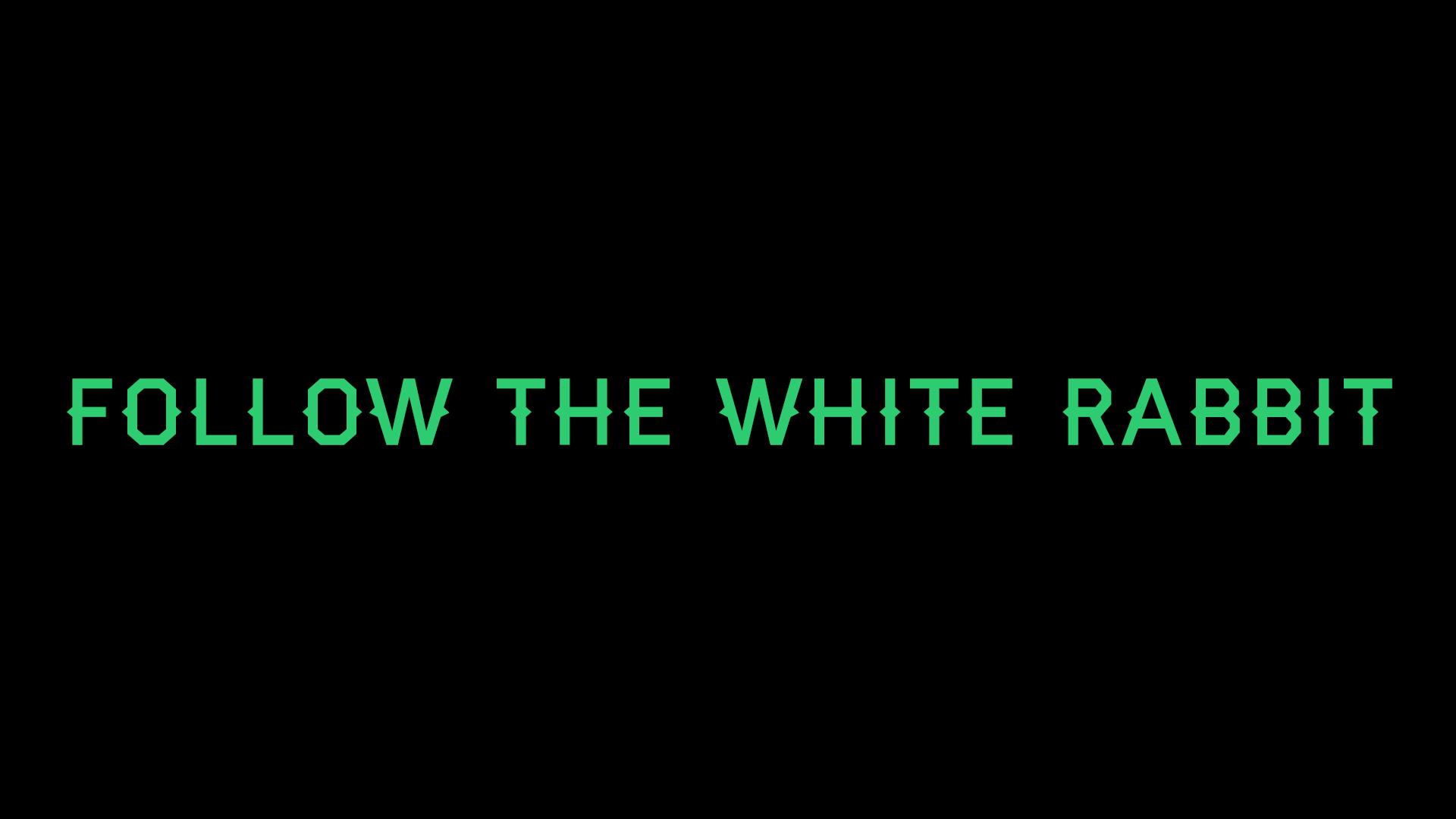follow the white rabbit � part i adrian crawford