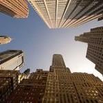 wide angle skyscraper