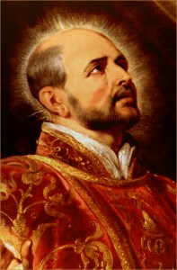 Ignatius - Head from Rubens Portrait