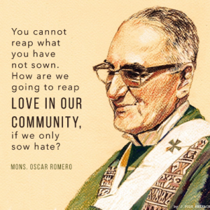 Archbishop Romero from the Ignatian Solidarity Network
