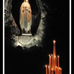 From the grotto at Lourdes Image: Fr. Lawrence Lew, OP / Flickr (Creative Commons)