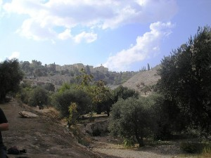 The Hinnom Valley, west of Jerusalem. Picture taken by Deror Avi