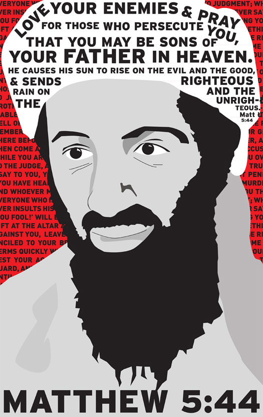 Love Your Enemies: Osama Bin Laden, God The Violent Warrior, And Loving Our