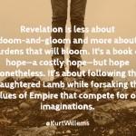 Revelation is...