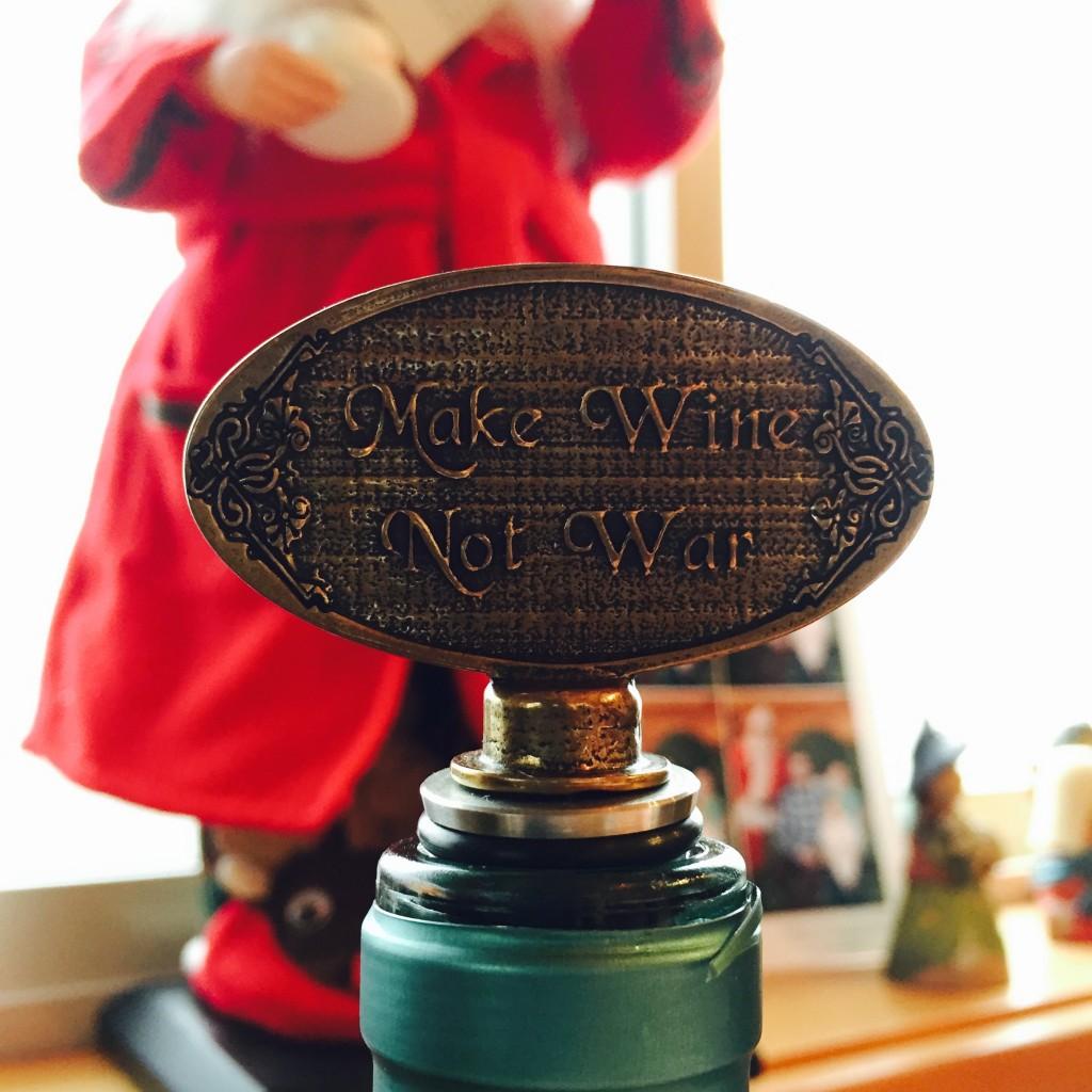 Make Wine Not War
