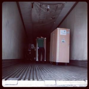 Church in a box shipment