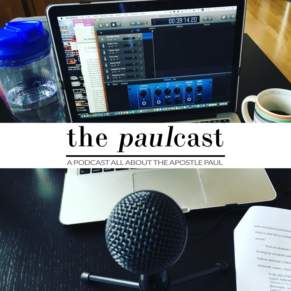 Paulcast studio image