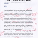 What Women Really Want - p. 1