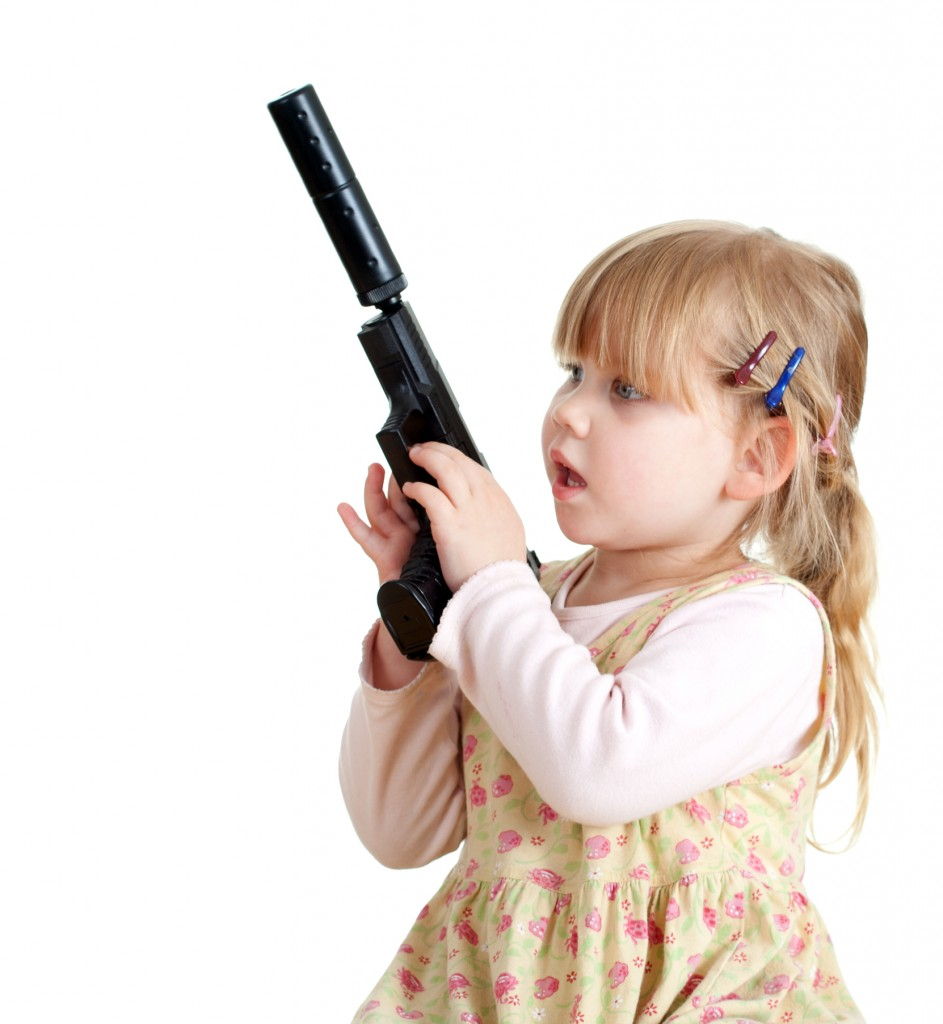 Guns Don't Kill People–Toddlers Do