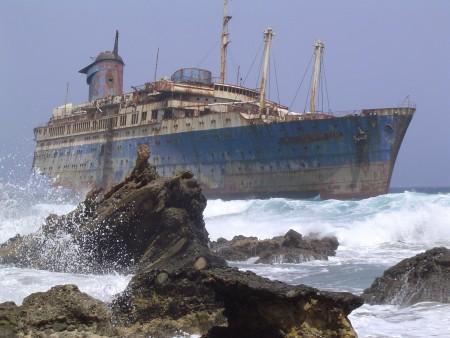 The shipwrecked UMC