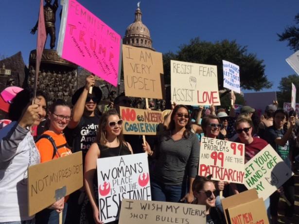 Austin, TX, January 21, 2017. Photo by Christy Thomas.
