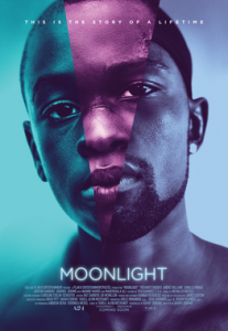 Moonlight, theatrical release poster