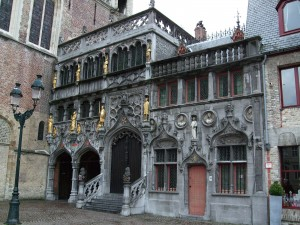 Basilica of the Holy Blood, Bruges, Belgium, photo courtesy of Wikimedia Commons (https://commons.wikimedia.org/wiki/Main_Page