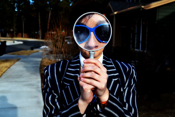 look for the unclean through a magnifying glass