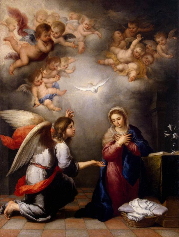 The annunciation: a subversive act