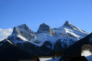 Mountains Three Sisters, Canmore