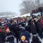 Reason #2353434 That I love Being Catholic: Snow Mass