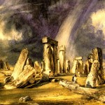 "John Constable-""Stonehenge"" from WikiMedia."