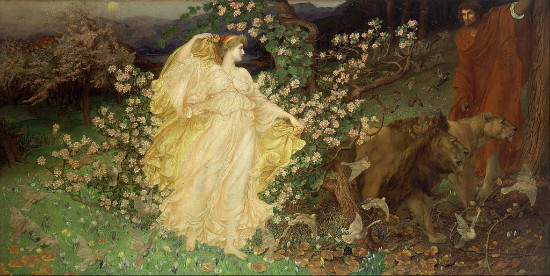 """Venus and Anchises"" by  William Blake Richmond.  From WikiMedia"