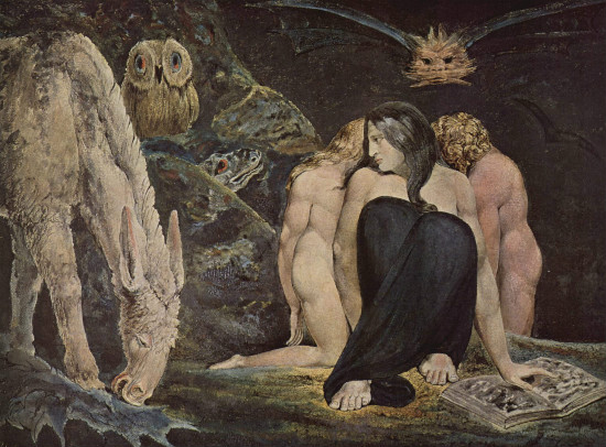 """Triple Hecate"" by William Blake, From WikiMedia"