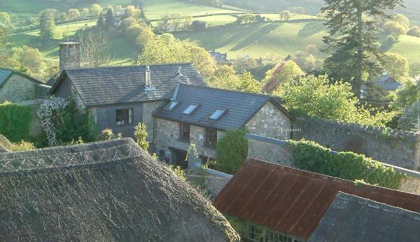 Bodmeric roof, Chagford