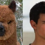 In Honor of Twilight…here are pictures of Taylor Lautner looking like a llama