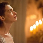 Fantine (Anne Hathaway) becomes increasingly desperate to provide for her daughter Cosette, in a world in which desperate women were not treated softly.