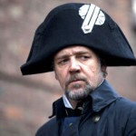 Russell Crowe as the stalwart and relentless police man Javert